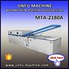 MTA-2180A double work tables membrane vacuum press machine,furniture kitchen door