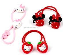Elastic Hair Bands, Fashion Hiar Bow, Hello Kitty Hair Band