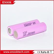 Big news rechargeable Samsung icr 18650 26F 2600mah 3.7V li-ion battery flat top for e cig Mechanical Mod