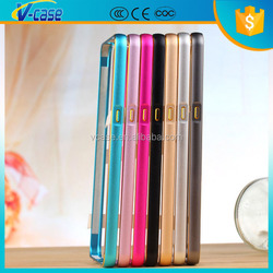 Chinses supplier customized metal frame case metal bumper case for lenovo p780