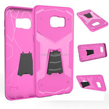 New products 2015 innovation product fancy 2 in 1 stand combo tpu case for samsung galaxy note 5 case alibaba china