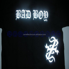 glow in the dark customized t shirts logo