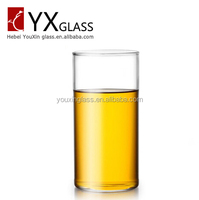 Single-layer glass heat-resistant glass coffee cup