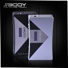 electronic cigarette brands SBODY ecig display stand 50W mod vapor cigarette wholesale