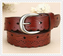 women genuine leather /real leather /pure leather waisted belts
