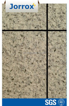 Water repellant stone-textured acrylic finish for building
