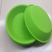 """silicone baking pan Deep Dish Round Pan 8.5"""" Non Stick Silicone Container Concentrate Oil BHO"""