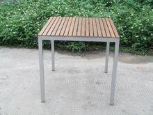 Outdoor PS wooden table garden sets
