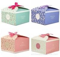 Eco friendly handmade brownie packaging box wholesale