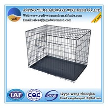wire folding pet crate dog cage / aluminum dog crate / cheap dog crate