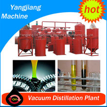 Good Final Base Oil from Black Used Engine Oil Recycling Machine