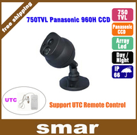 Home Security Indoor/Outdoor CCTV Camera 750TVL Panasonic 960H CCD Array LED Night Vision Video Surveillance Free Shipping