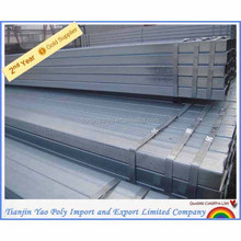 50*50 BS1387 square pipe hollow section 89