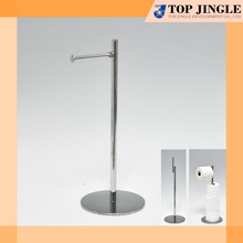 2 in 1 metal 4 roll sapre and Toilet Tissue Holder stand