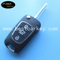 High quality 3 button car remote key with 433 mhz 4d67chip for remote key toyota rav4 toyota car remote key