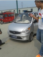 CCC 4 wheeler electric car with open roof