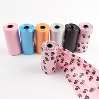 China Good quality custom made cheap biodegradable d2w dog waste bags