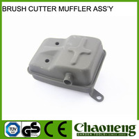 Chaoneng brush cutter spare parts mufflers, silencer ass'y for garden tools