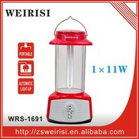 Rechargeable emergency handy lantern with battery backup
