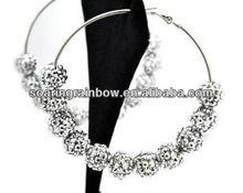 basket ball wives earrings