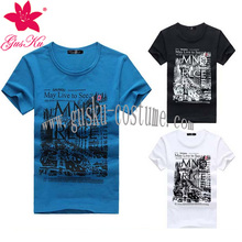 2015-Gus-GMM-013 Custom popular classic men's T-shirt, popular fashion men's T-shirt, cheap men's t-shirt wholesale