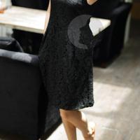 for women Showy fashion designer Long Shirt Dresses