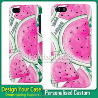 Luxury pink sweet custom design phone case image print for iphone 5s 6 6S phone case custom
