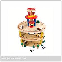 Toy Car Play Set , Children Park Toy , Pretend Garage
