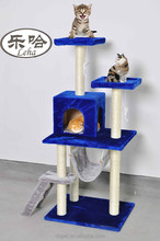 Dspet Multi-level cat tree cat mobile house products with Soft Plush / Sisal