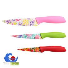 yangjiang colored 3 pcs ceramic knife set
