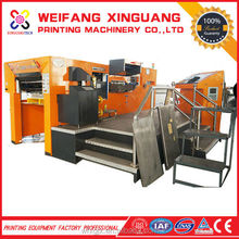 XMQ-1050FC low price number digital plate embossing machine with AC servo control system