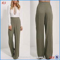 High Quality Ladies Loose Pajama Pants Women High Waist Trousers