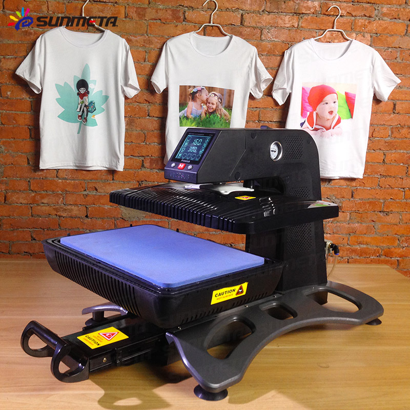 Multi function 3d digital sublimation vacuum heat press for Thermal transfer printing equipment for t shirt