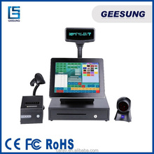 Pos System Terminal All In One Pos with 2GB Memory 500HDD