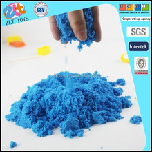 DIY 1000g magic sand kinetic play sand toy with non-toxic material beach sand for kids
