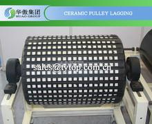 Alúmina de cerámica rezagado hoja de goma fabricante de China