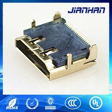 2014 new arrival hdmi connector in industrial and scientific alibaba China