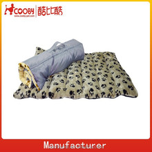 One side waterproof one side soft fleece outer pet mat for traveling /dog pad