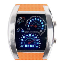 2015 new product flashing LED watch gift Mens LED Watch