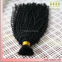 Full cuticle unprocessed indian virgin 100% human hair bulk