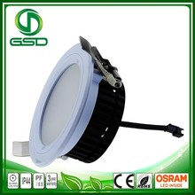 5w 12w 18w 30w smd ultra thin nature/warm white downlight with 90mm cutout