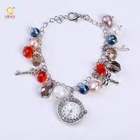 Ladies fancy wrist watches latest design bracelet watch for girls