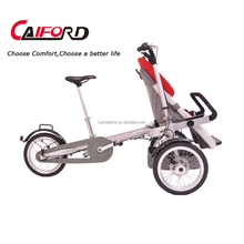 3 wheel two seat good baby stroller bike