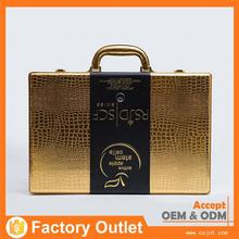 new products custom brand fashionable carriable cosmetics box