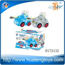 H172132ยานพาหนะของเล่นการ์ตูนน่ารัก, แสงเพลงรถหุ้มเกราะไฟฟ้า