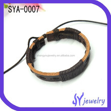 Fabulous Cheap Fine Leather Bracelet Jewelry With Good Quality Material