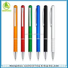 Customized logo plastic twist pen for hotel