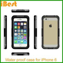 iBest 2014 new design Waterproof Case for iPhone 6 , for iphone 6 waterproof case, waterproof cheap mobile phone case