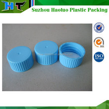 20mm,24mm,28mm plastic normal screw cap with PE liner, plastic bottle cap with ribbed