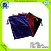 Difference color Velvet Wedding Gift Bag Drawable Jewelry Packaging Bags